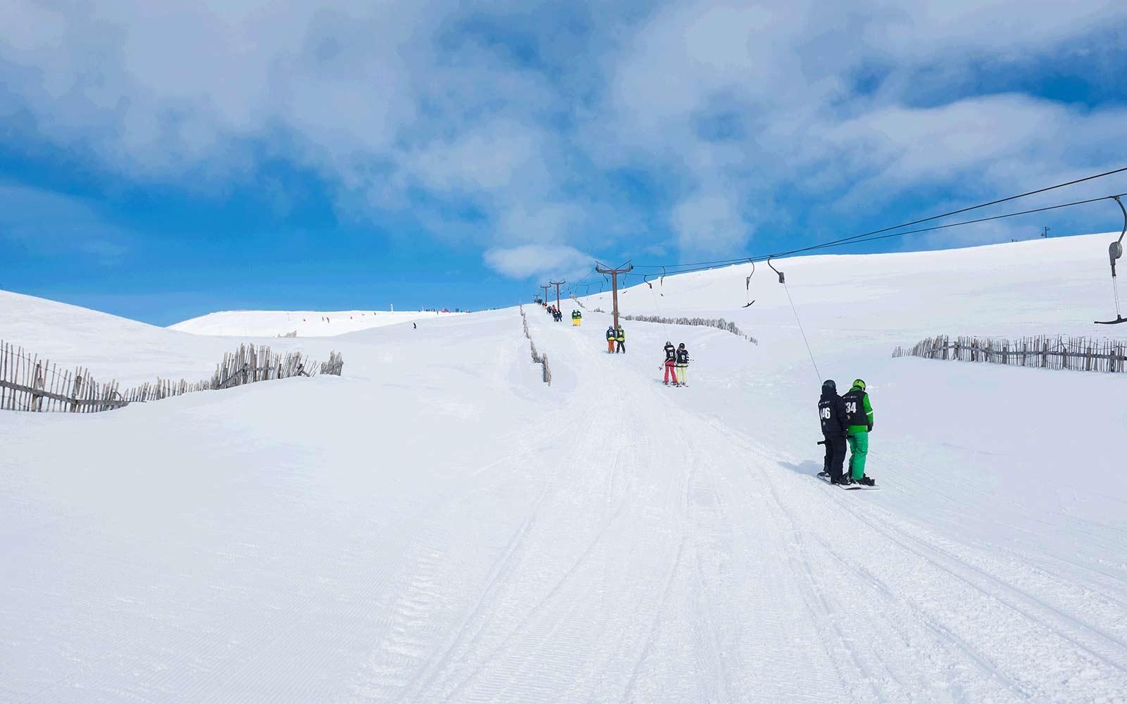 glenshee snowsports centre