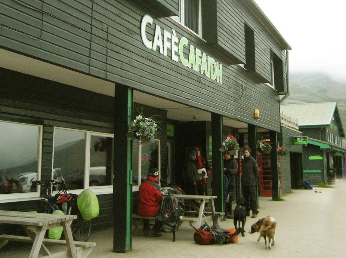 Cafe, restaurant and snacks at Glenshee Ski Centre