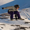 Snowboarding in Scotland at Glenshee