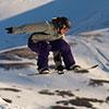 Snowboarding in Scotland at Glenshee