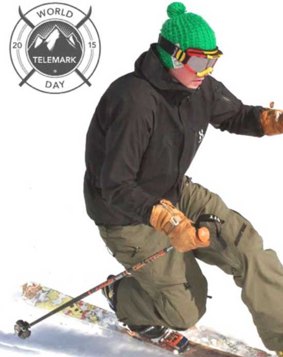 Celebrate the first ever World Telemark day with a fun day of skiing
