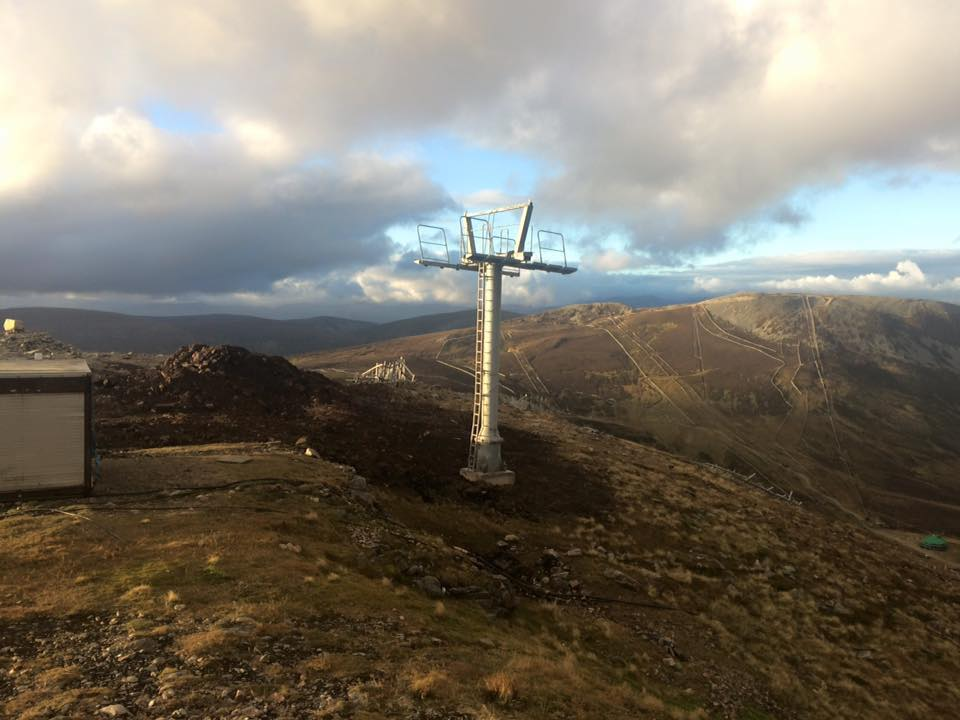 New Cairnwell Chairlift Progress