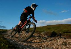 Mountain Bike trail at Glenshee