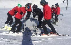 Freshtracks staff getting ready for the skiing season